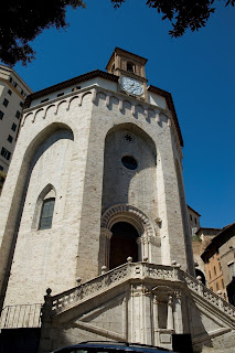 The church of Sant'Ercolano in Perugia