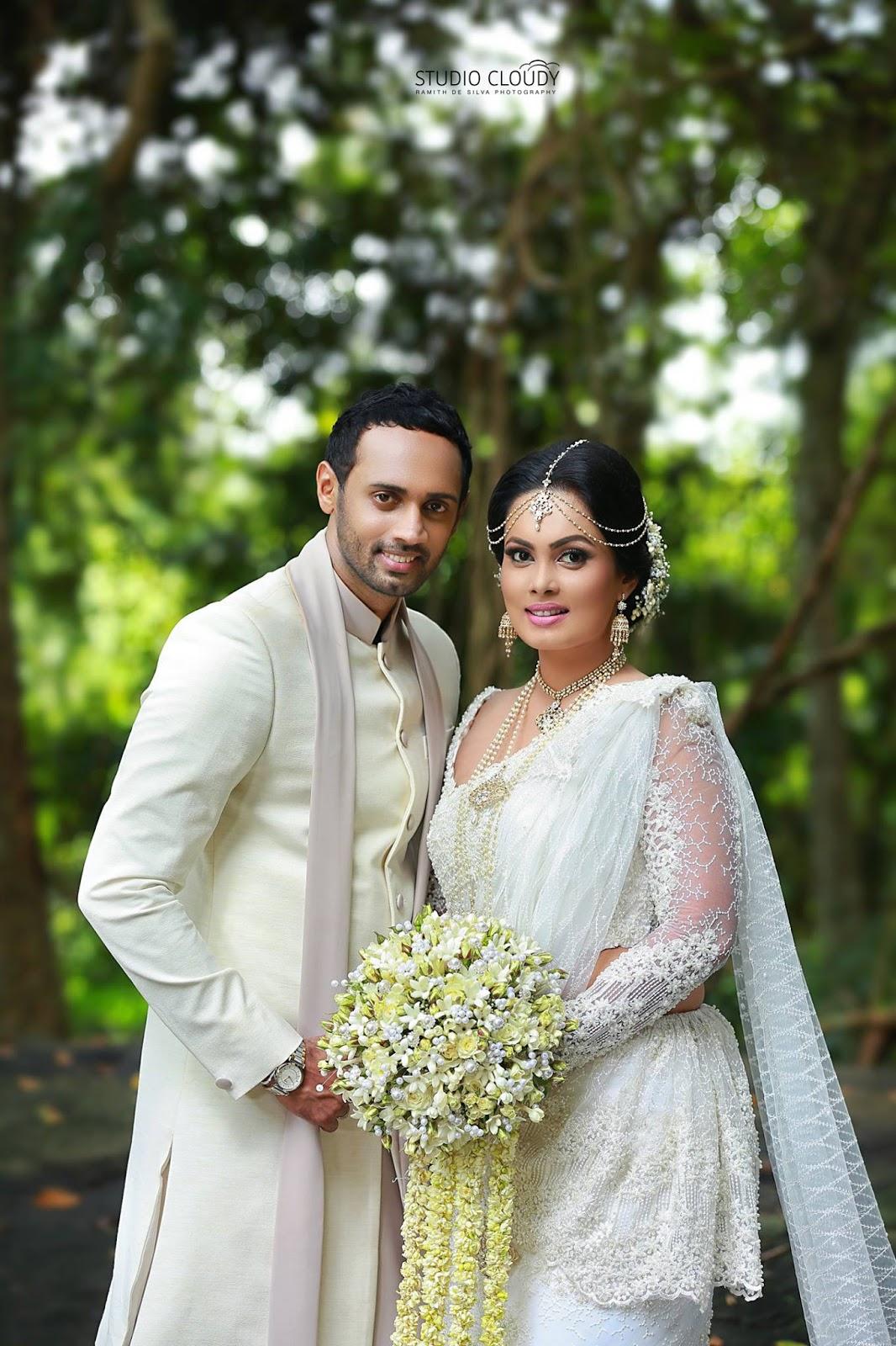 Menaka Peiris Ranil Wedding Day