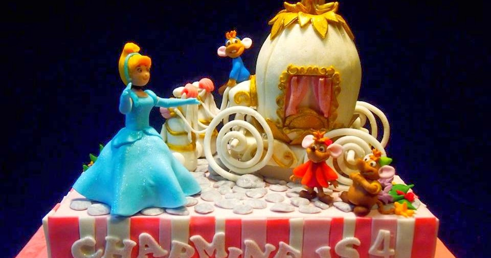 Jcakehomemade Cinderella And Mickey Mouse Clubhouse
