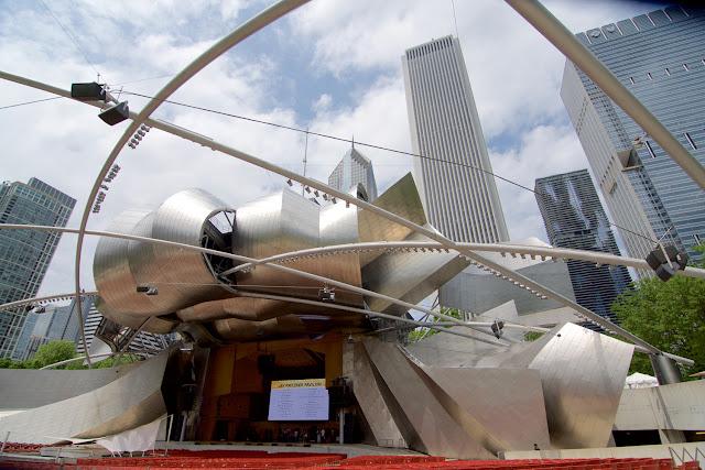 Jay Pritzker Pavilion - Frank Gehry en Chicago