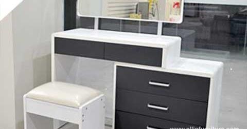 Meja rias desain minimalis modern hilton - Allia Furniture