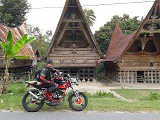 Cecen Core - Kawasaki Ninja 150R EVILution touring Danau Toba