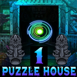 Play Games4King Night Puzzle House Escape Part 1