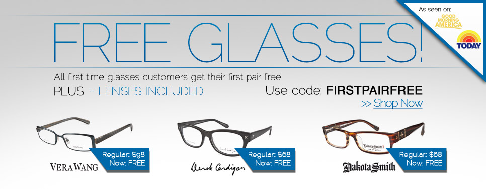 53aee26fcb FREE Pair of Eyeglasses (Frames   Lens) at Coastal.com - Limited Time Offer