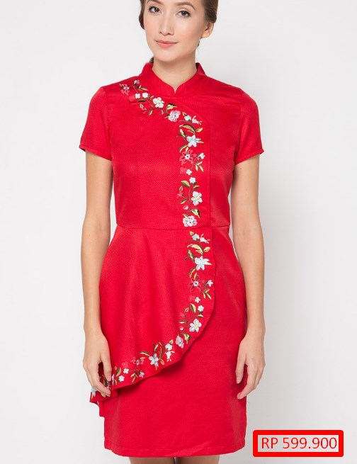 39 Model Baju Gaun Pesta Pendek Dress Slimfit Modern Mewah Model