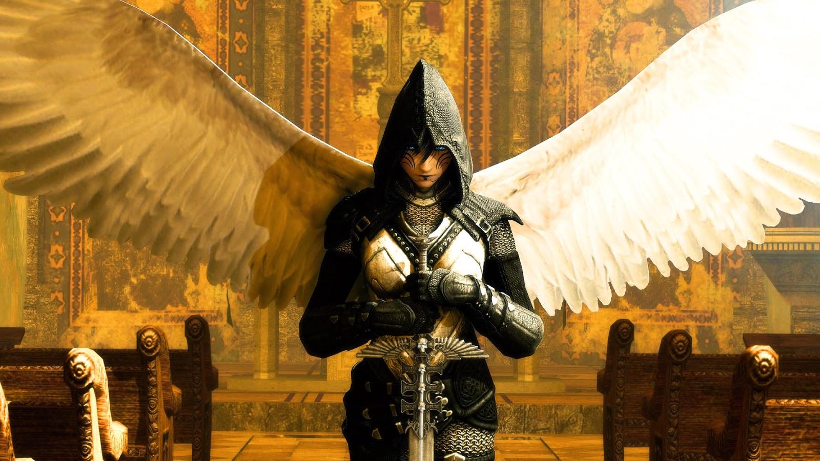 Lo Que Piensa Urbóreas Los ángeles Guerreros Y Los Niños