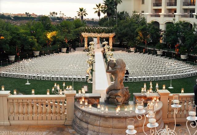 Los Angeles Outdoor Wedding Venues St. Regis Monarch Beach Resort