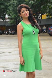 Actress Poonam Kaur Pictures in Green Short Dress at Prayanam Movie Opening  0027.JPG