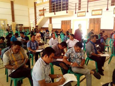 Ratusan PPL se-Lampung Timur Ikuti Tes Psikologi dan Bebas Narkoba