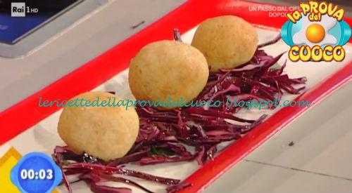 Pallotte cacio e ova ricetta Zoppolatti da Prova del Cuoco