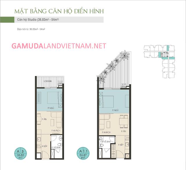 CHUNG CƯ THE TWO RESIDENCE GAMUDA GARDENS