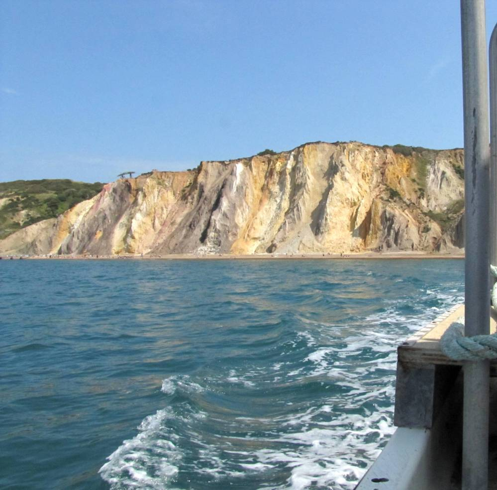Felt We Could Reward Ourselves With The Boat Trip Out To The Needles