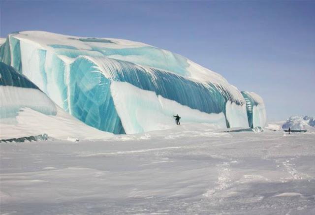 tsunami congelada geleira antartida carlos romero