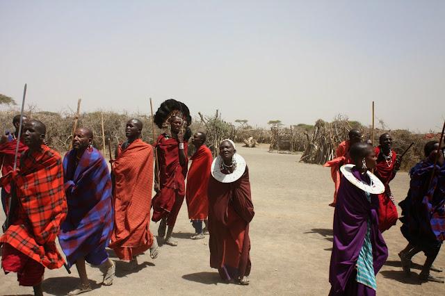tansania safari afrikka matka masai