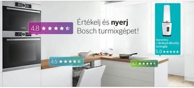 Bosch Home Mixx2Go Nyereményjáték