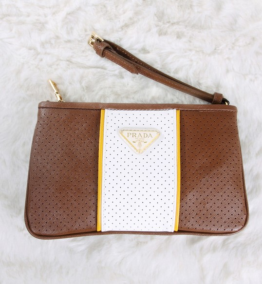99aa13e861f9 ... discount prada white clutch leather apricot 7005 bag 174.17 save 47 off  0e1b5 f23a7