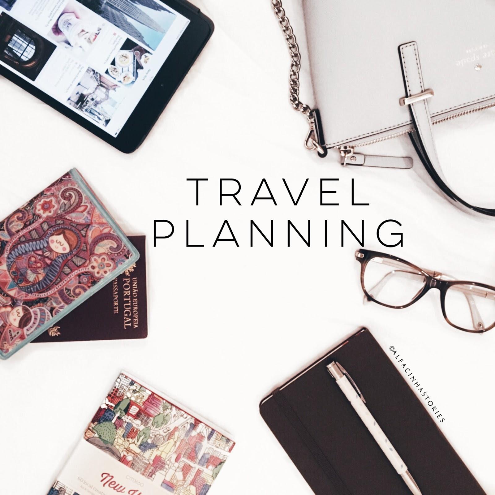Planning a trip // Planear uma viagem