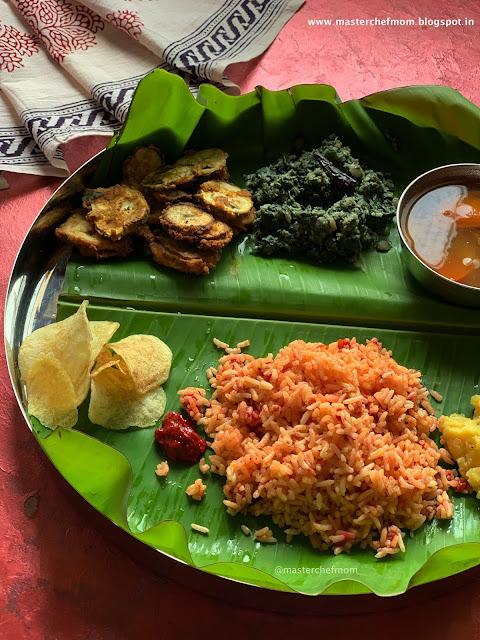Indian Thali Ideas By Masterchefmom  #005