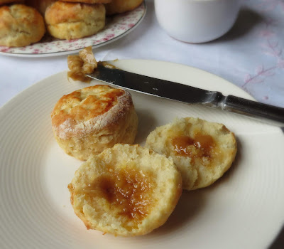 Perfect Scones with Clementine & Cinnamon Butter
