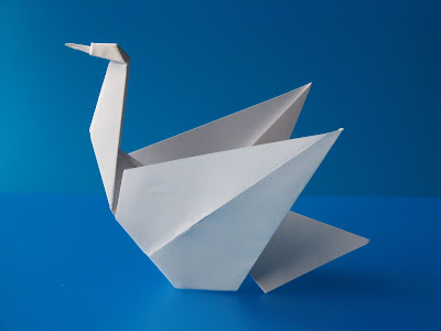 Origami Cigno - Swan by Francesco Guarnieri