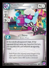 My Little Pony Photo Finish, Snapshot Seaquestria and Beyond CCG Card