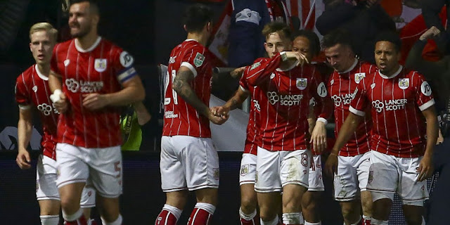 Hasil Piala Liga : Mengejutkan! Bristol City taklukan Manchester United 2-1