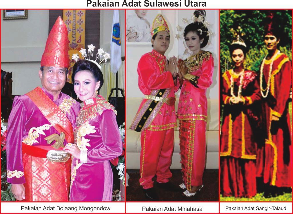 Pakaian Adat Sulawesi Utara Lengkap Gambar Dan Penjelasannya Seni