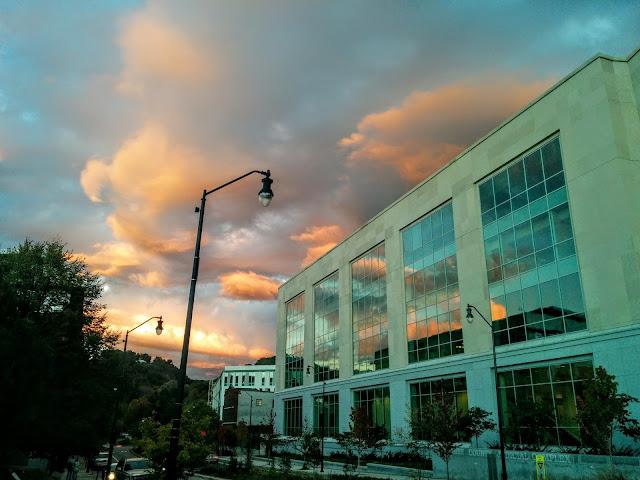 Amazing Sunset in Asheville, NC