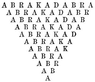 Imagen de la frase abrakadabra
