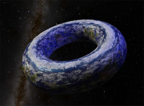 Torus earth - 'Terra Rosquinha' - nova teoria depois da Terra Plana