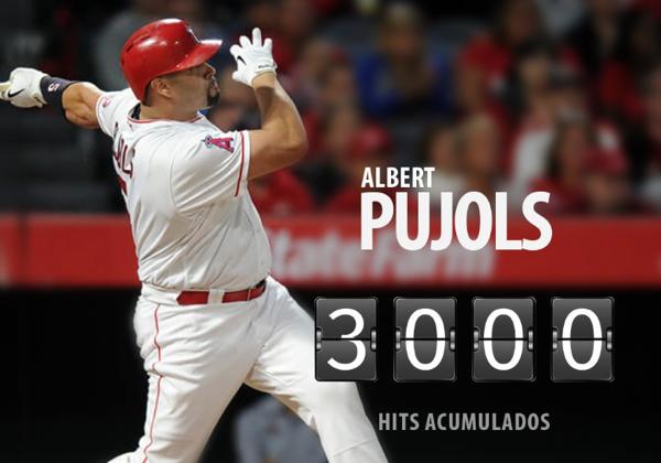 Video - Albert Pujols llegó a los 3,000 hits