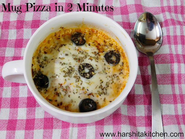 mug pizza recipe