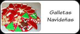 Galletas navideñas con glasa real