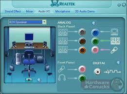 تنزيل برنامج تعريف كارت الصوت  للكمبيوتر Realtek High Definition Audio