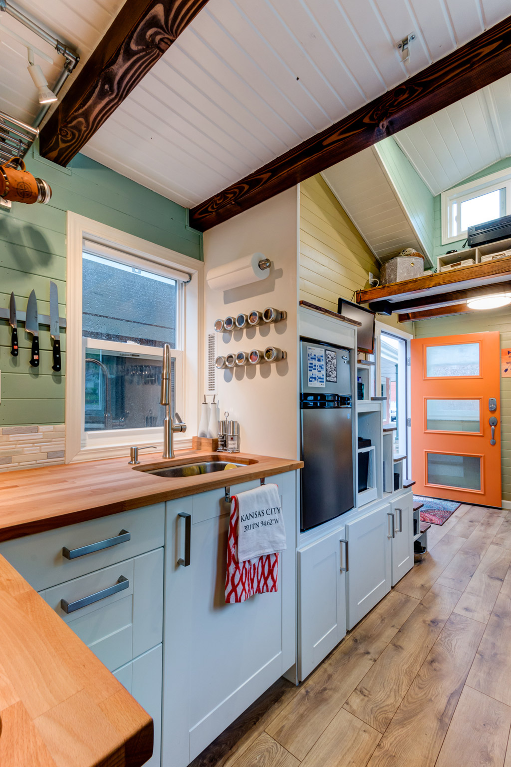 8 Staycation Worthy Tiny Homes For Sale: TINY HOUSE TOWN: The Wanderlust Tiny House (170 Sq Ft