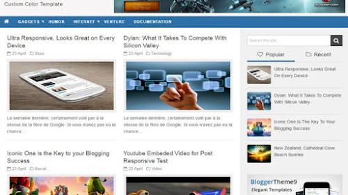 Furbish Mag Blogger Template