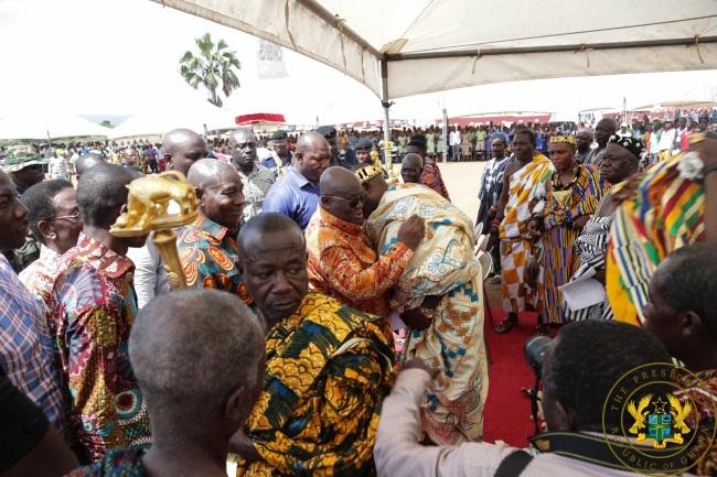 """Ignore NDC Propaganda, University Of Environment Will Remain In Somanya"" – President Akufo-Addo"