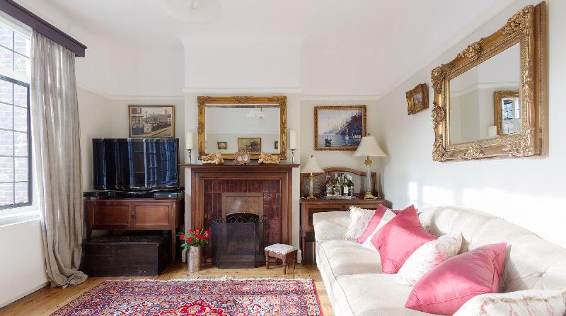 Dormire nelle case più belle di Londra la quintessenza della bellezza salotto
