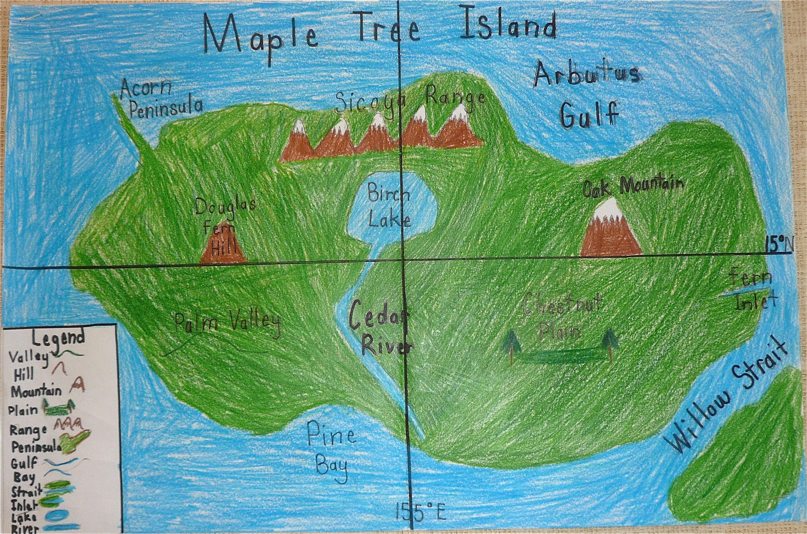 Island Map Project Our Classroom Page: Island Map Project