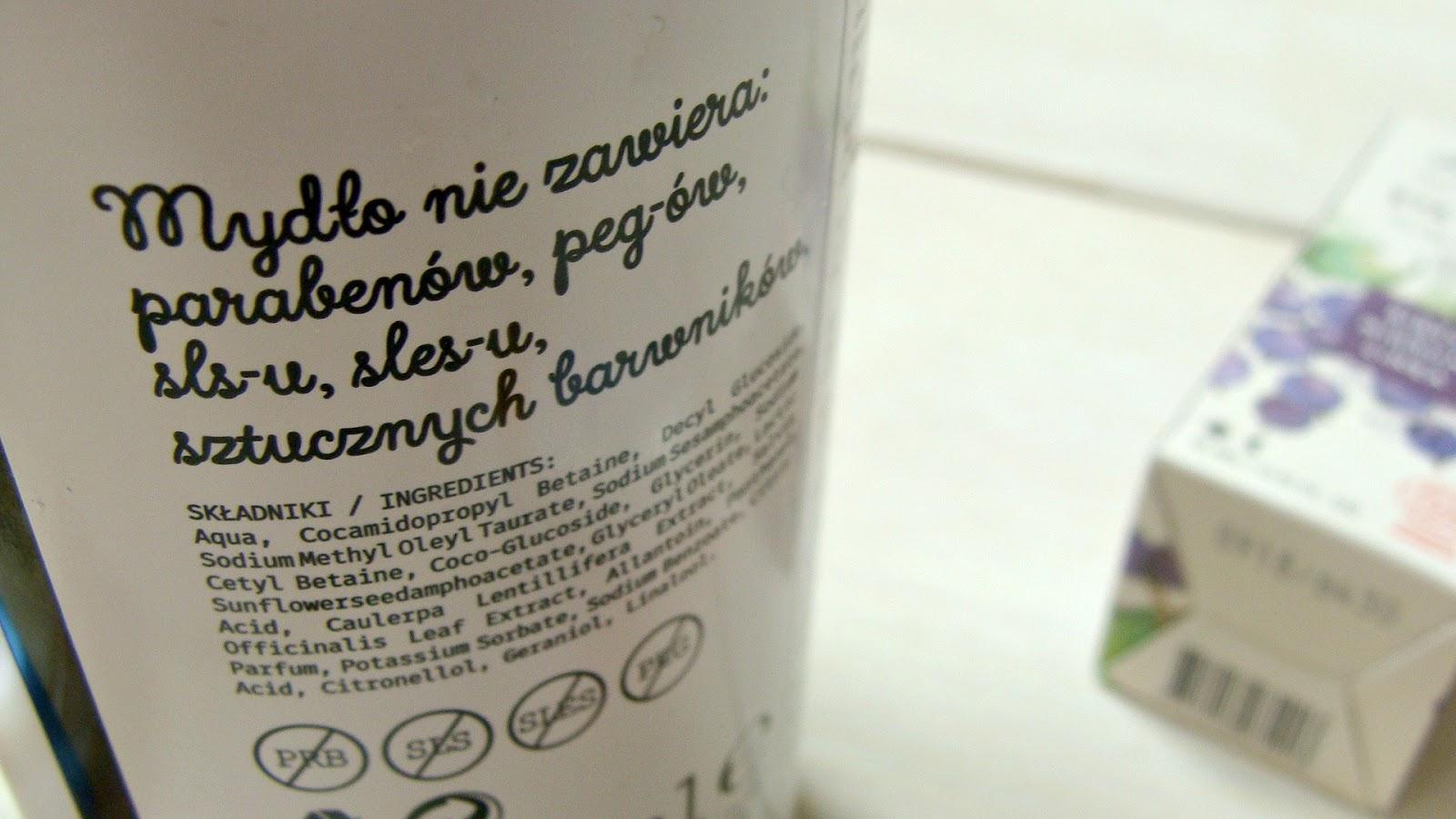 Mydło Yope Szałwia i Zielony kawior