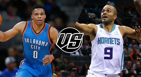 Live Streaming List: Oklahoma City Thunder vs Charlotte Hornets 2018-2019 NBA Season