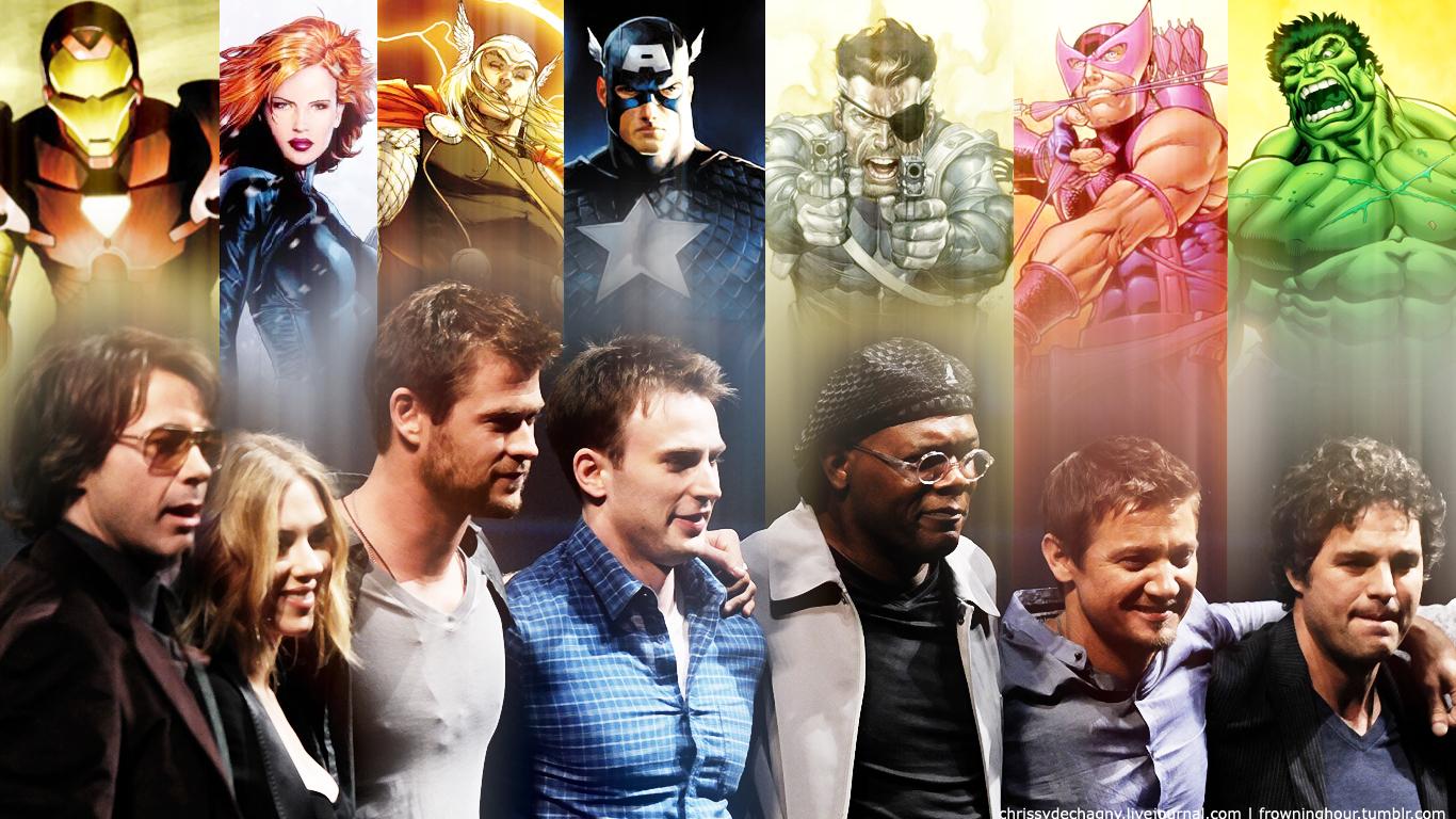 Capitan Marvel Y Los Falsos Vengadores Todo Lo Que: Galería De Imágenes De Los Vengadores (2012)