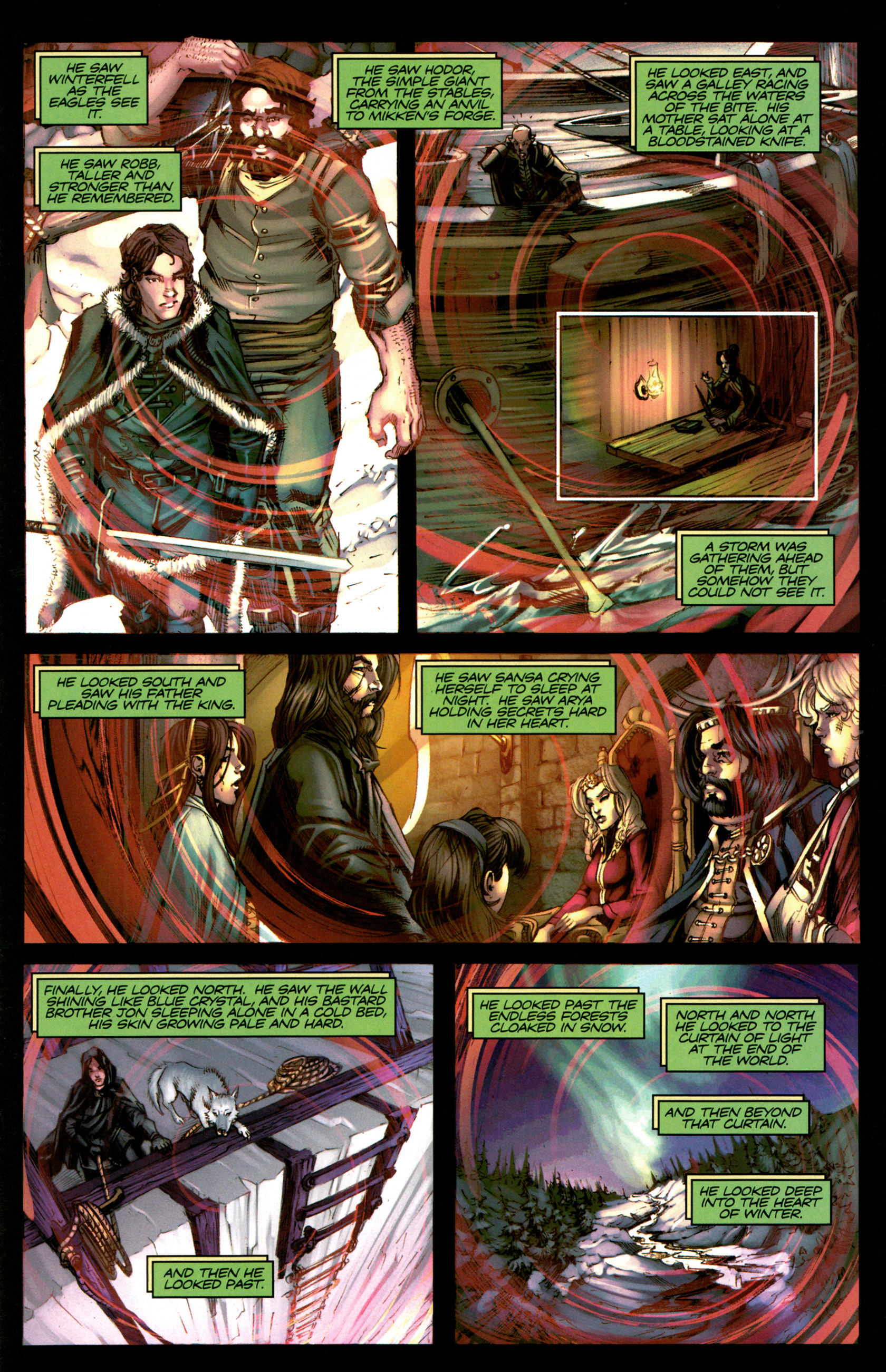 Read online A Game Of Thrones comic -  Issue #5 - 29