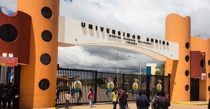 SUNEDU niega licenciamiento a la UANCV - Universidad Andina Néstor Cáceres Velásquez - www.uancv.gob.pe
