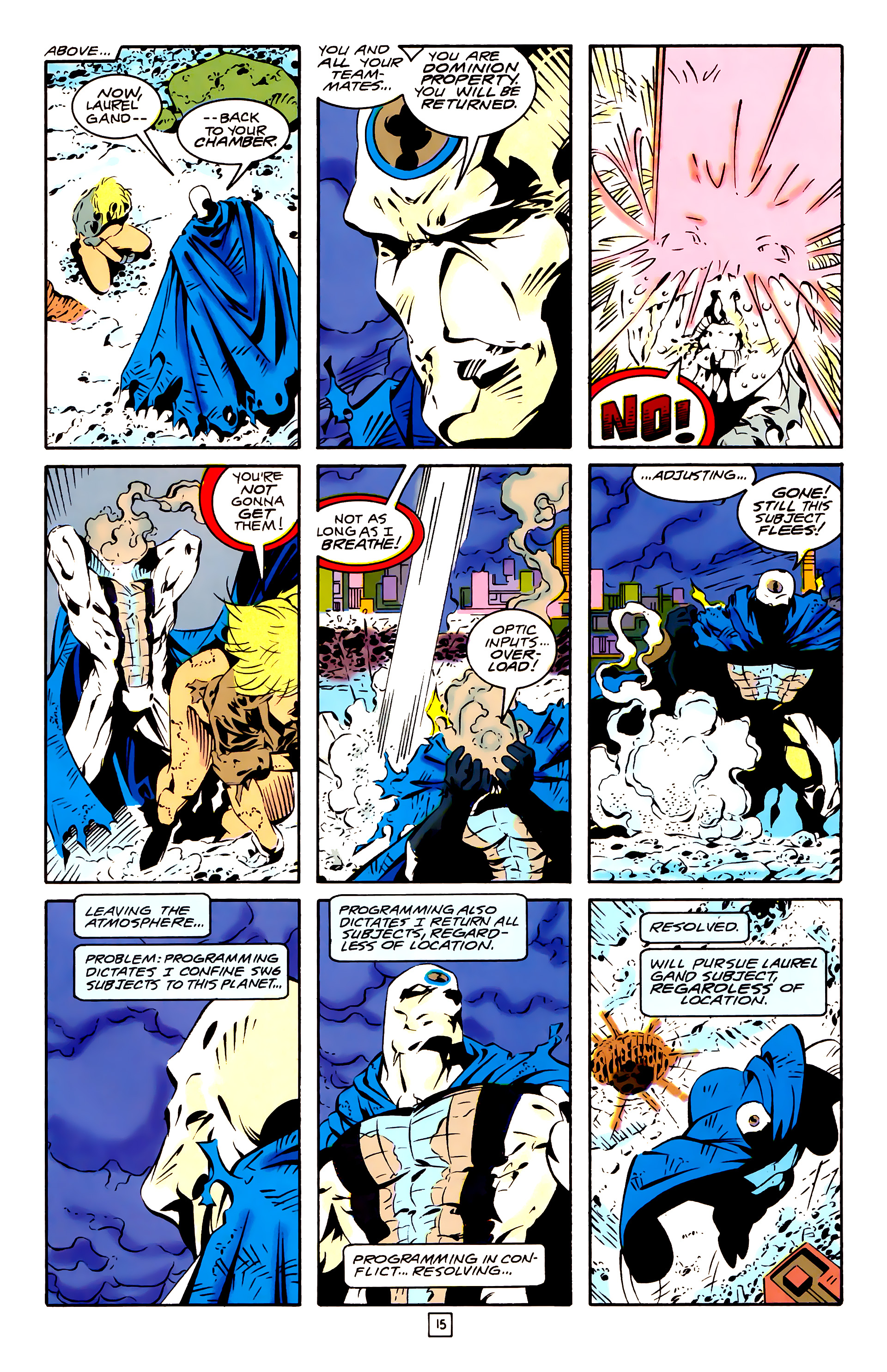 Legion of Super-Heroes (1989) 26 Page 15