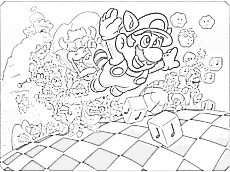 super mario brothers coloring page - super mario bros coloring pictures gambar mewarnai