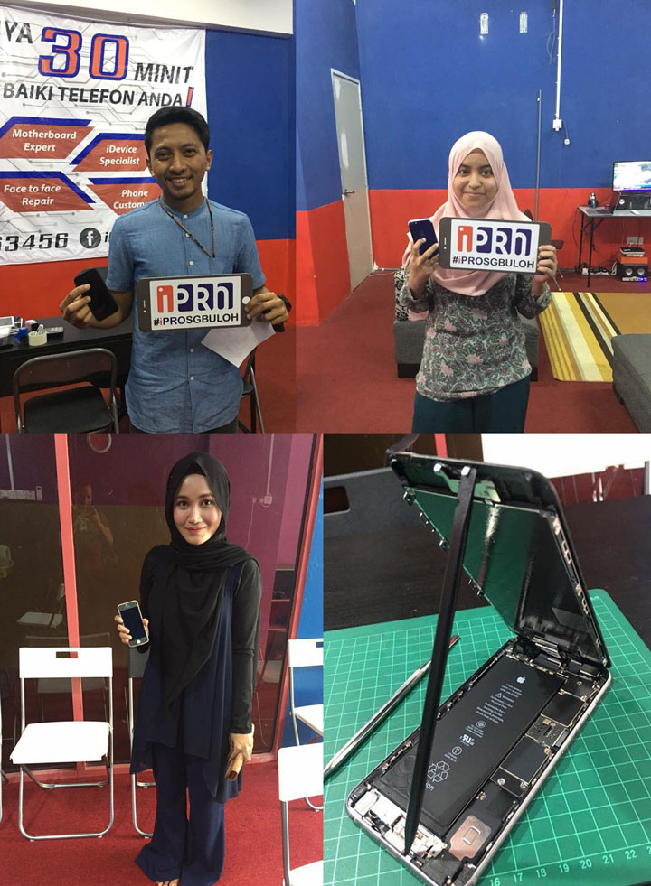 iPro Sungai Buloh - Servis Repair Motherboard iPhone Murah Pantas
