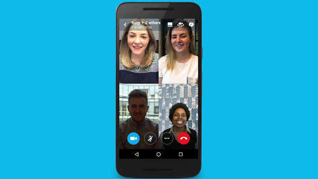 skype finally lets you share your phone screen when making video calls