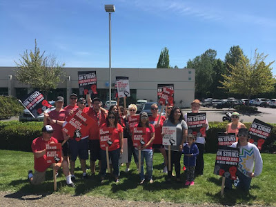Day Three: Our strike at AT&T Mobility in Salem