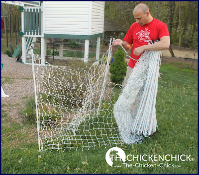 Premier 1 Electric Poultry Netting installaion